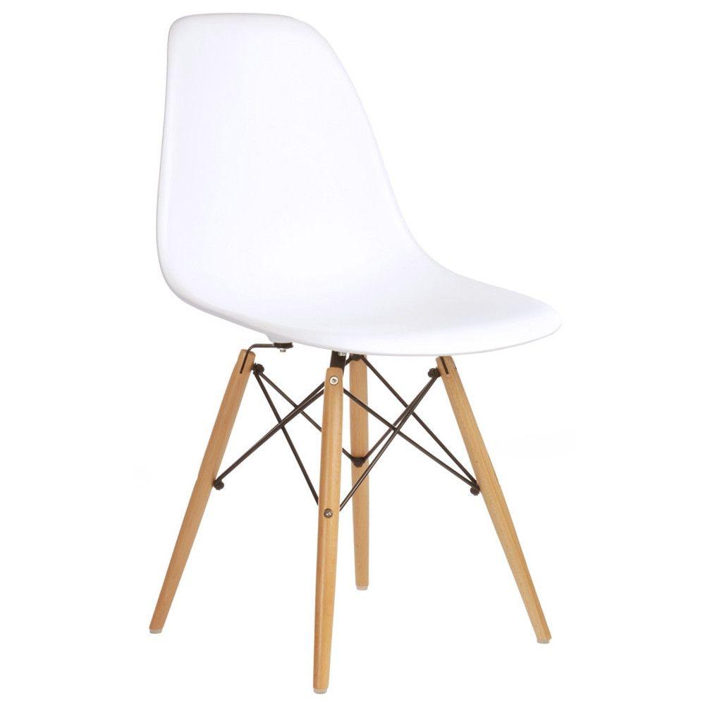 Emodern decor slope shell side chair
