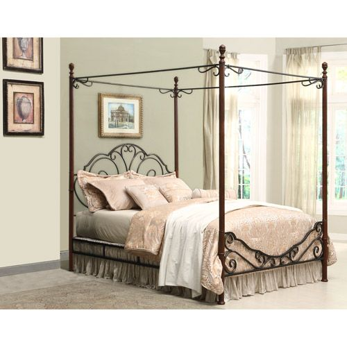 Home Metal Canopy Bed King Size Canopy Bed Queen Canopy Bed