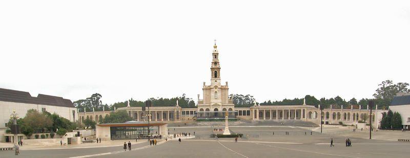. En la imagen el Santuario de Fátima.  . Portugal