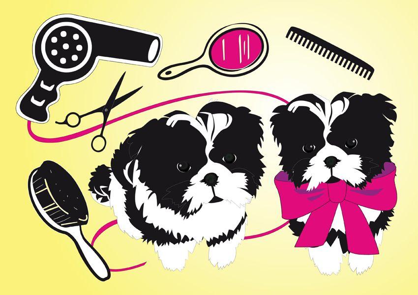 Hair Salon Images Hair Salon Hairsalon Dog Grooming Shop Dog Art Projects Beautiful Dogs