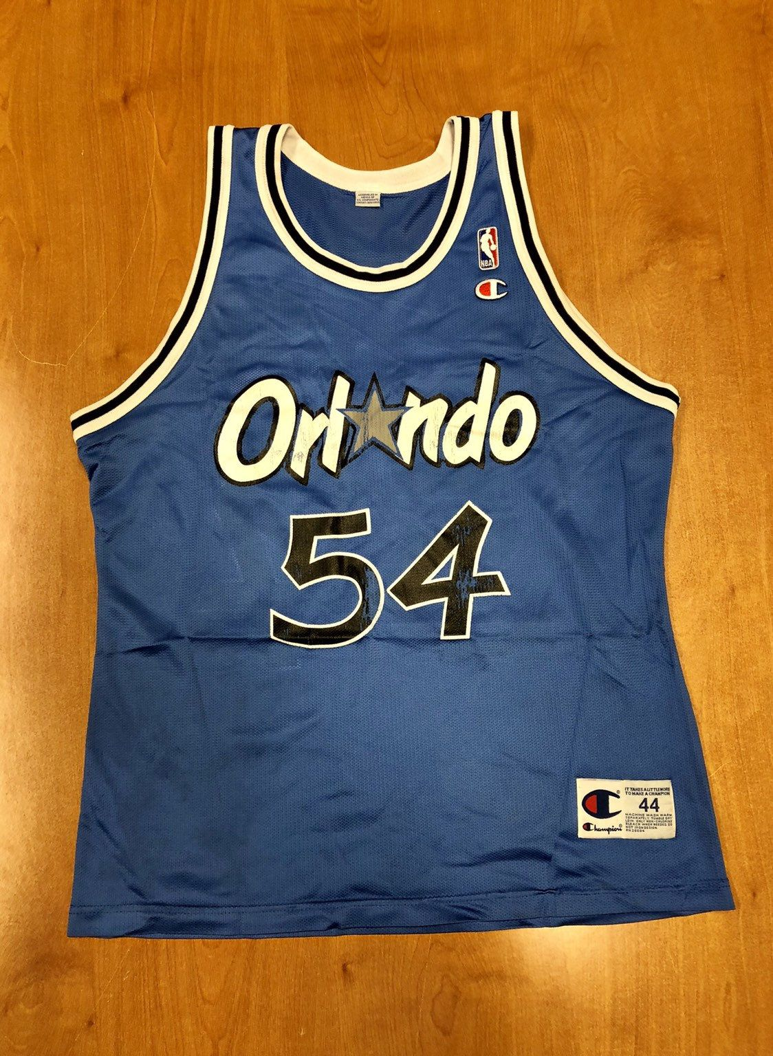 8d1ba158e05a Vintage 1995-1998 Horace Grant Orlando Magic Champion Jersey Size 44 nba  shaquille o neal darrell armstrong shirt hat penny hardaway bulls by ...