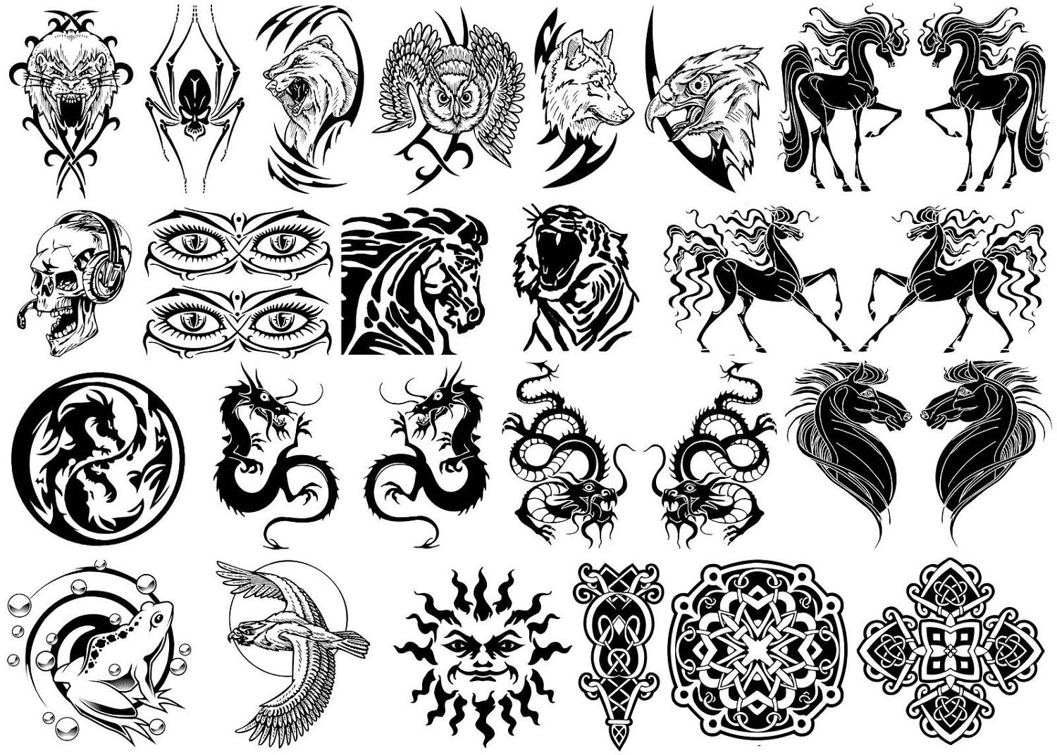 Chinese symbols dragon image collections symbol and sign ideas picture of chinese dragon tribal tattoo google search dragon kanji chinese symbols tattoos collection for men biocorpaavc Gallery
