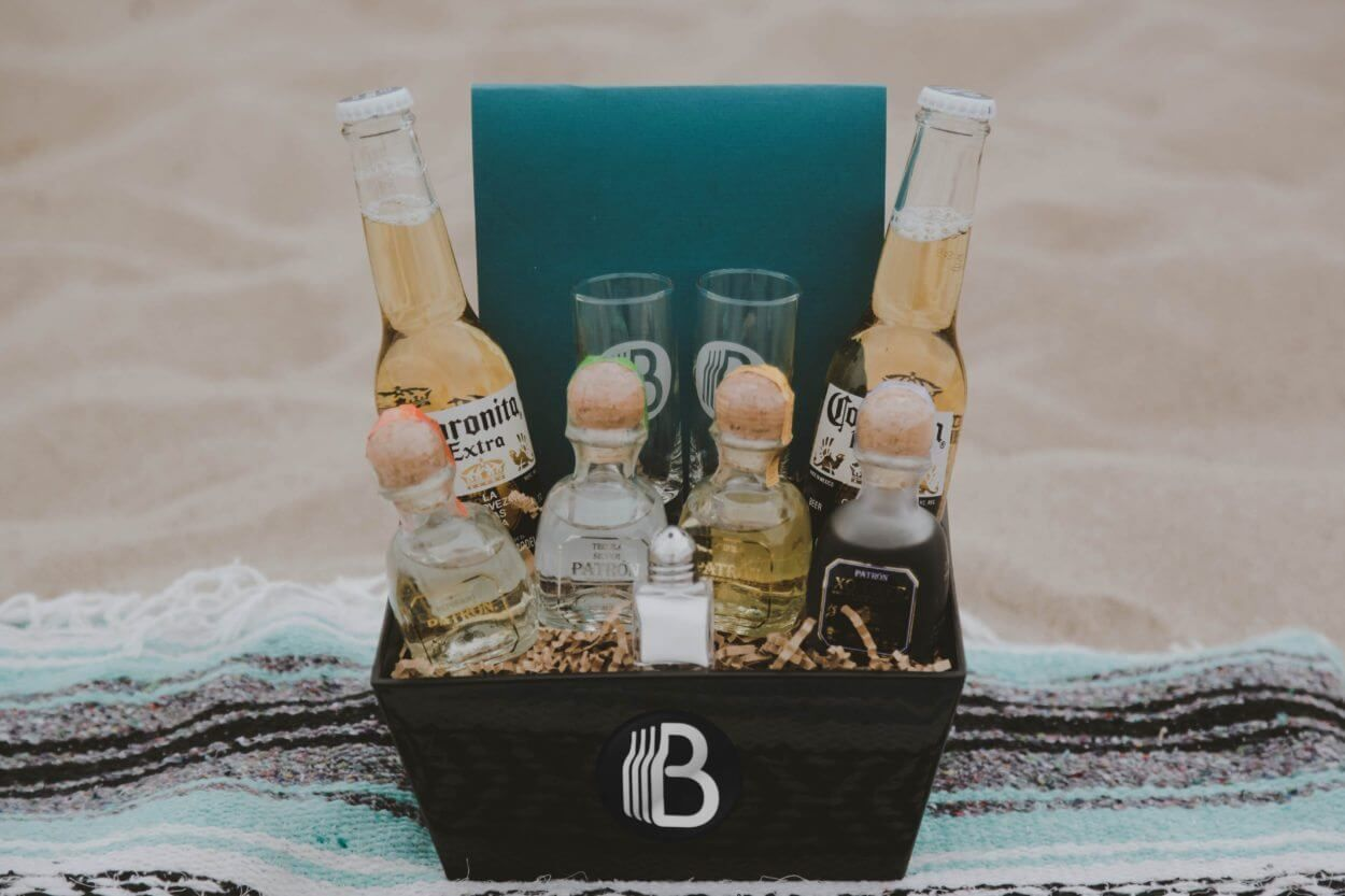 Viva La Tequila – One awesome tequila gift basket | The BroBasket