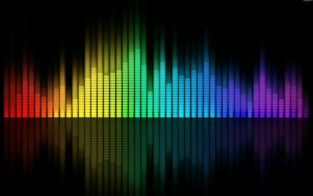 Rainbow Sound Bar Hd Cool Wallpapers Wallpaper Backgrounds Music
