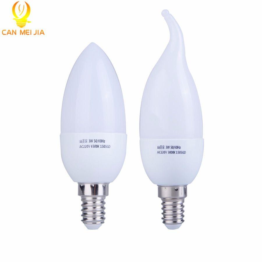 E14 Led Candle Bulb Energy Saving Lamp Lights 3W 5W E14 220V LEDs ...