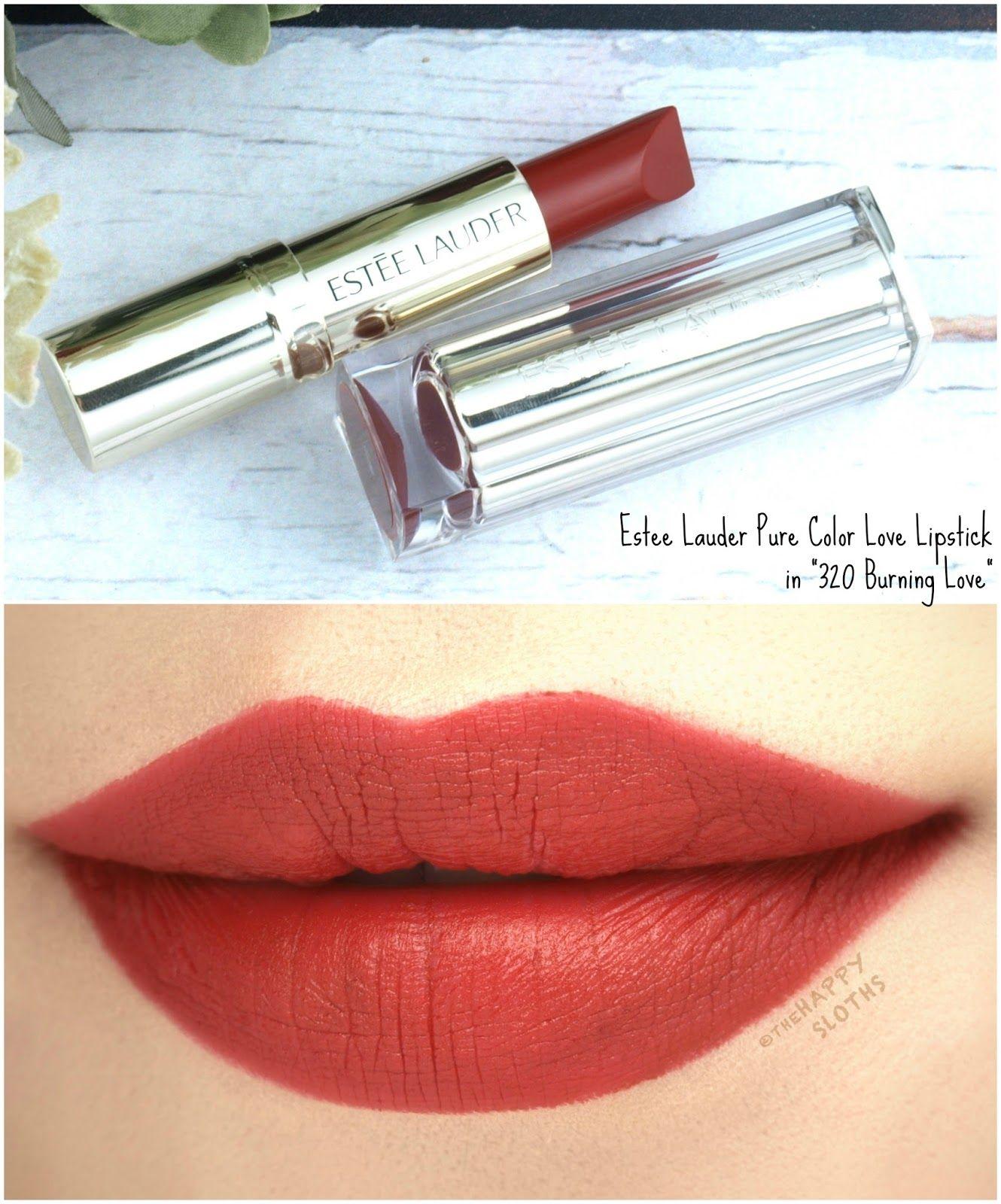 5ce3ac5a0196 Estee Lauder Pure Color Love Lipstick in