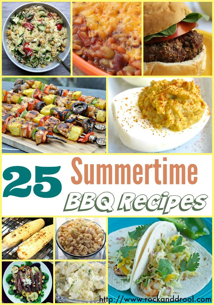 Recipe Round Up 25 Awesome Summer Bbq Dishes Bbq Dishes Bbq Recipes Recipes