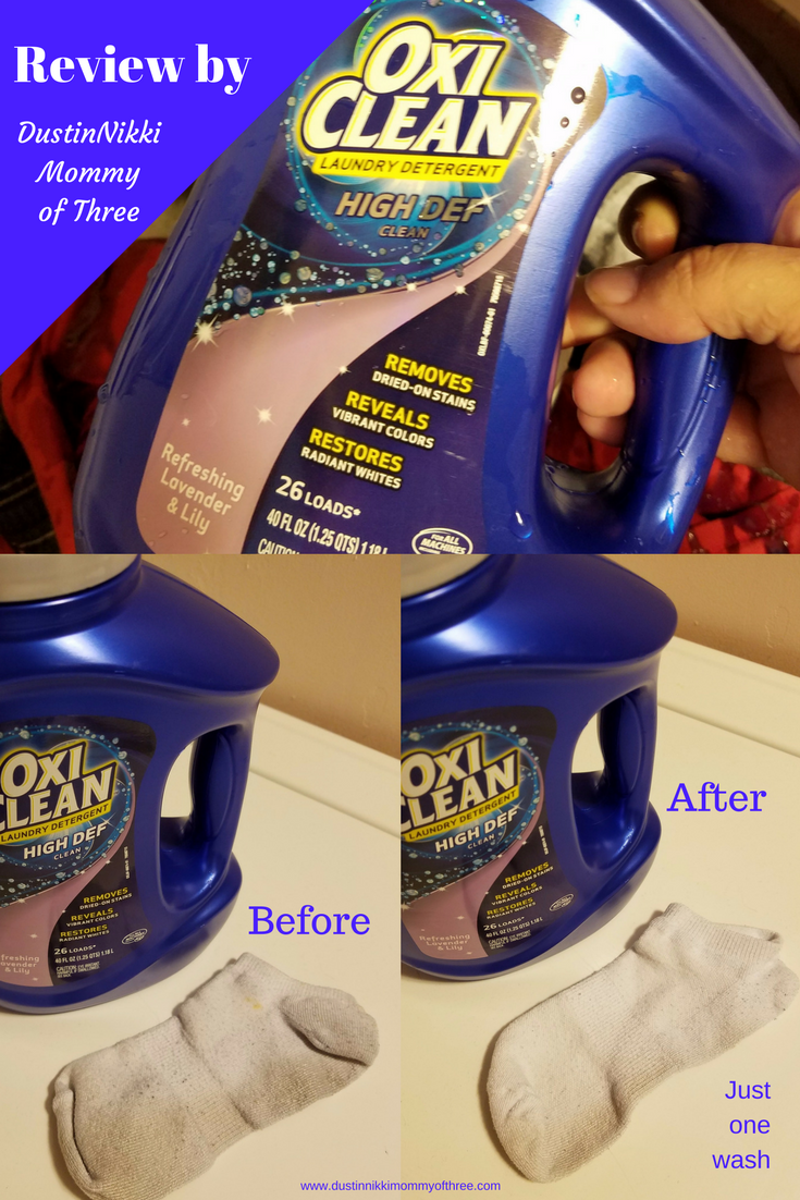 Oxiclean High Def Clean Laundry Detergent Review Spon Laundry