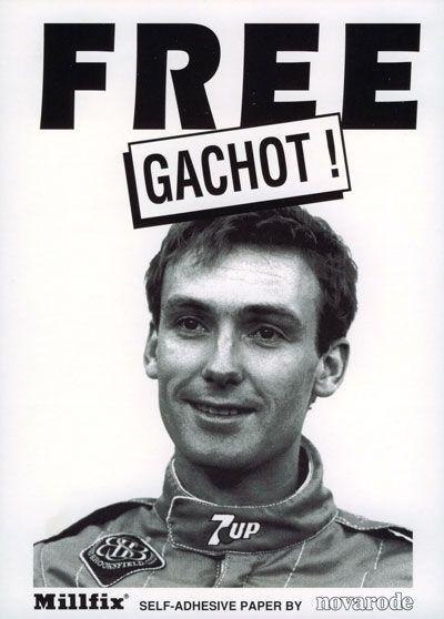 Campanhas foram feitas para libertar Bertrand Gachot da prisão