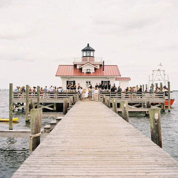 Dock Wedding Outer Banks Wedding Venue Outer Banks Wedding Outer Banks Beach