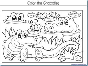 The Selfish Crocodile ~ Kindergarten Literature Unit Printables - 1+ ...