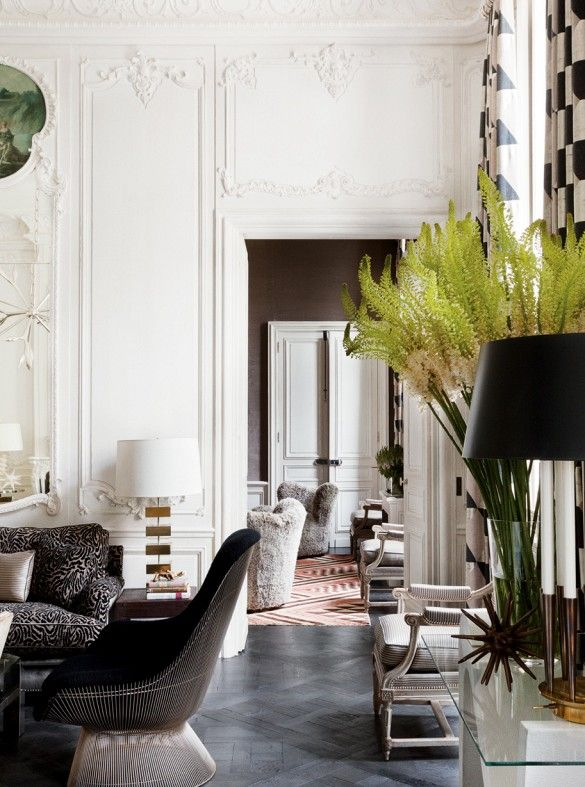 Elements of Style Blog | Parisian Style at Home and On You! | http://www.elementsofstyleblog.com