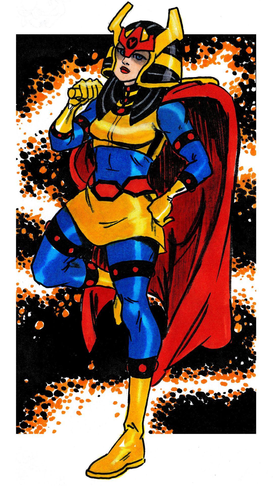 Big Barda,former Captain of Darkseid's Female Fur