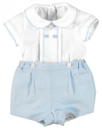 dd9a41821 Mayoral Baby Boys 2 Piece Linen Dungaries Set | My kids | Baby boy ...