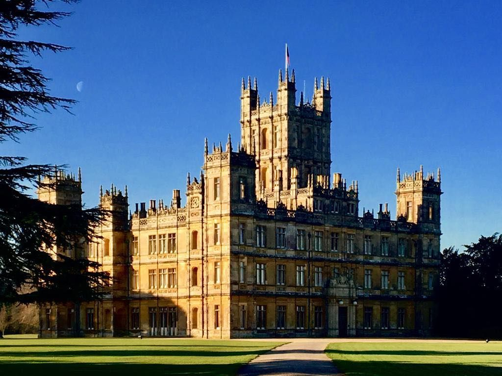 "Highclere Castle on Instagram: ""This morning the sky was ..."
