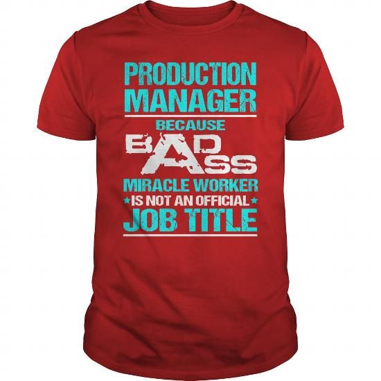Awesome Tee For Production Manager T Shirts, Hoodie. Shopping Online Now ==► https://www.sunfrog.com/LifeStyle/Awesome-Tee-For-Production-Manager-109091804-Red-Guys.html?41382