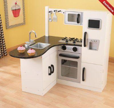 Kidkraft Große Küche 53181 | Kidkraft Chef S Corner Kids Kitchen Beds And Kitchens For Kids