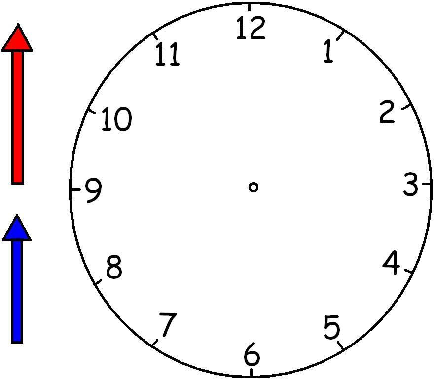 Clocks Without Hands Worksheets Clipart Best