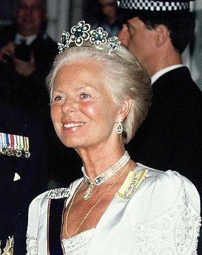 The Duchess Of Kent Wife The Duke Of Kent Wearing The Kent Aquamarine Tiara New Form United Kingdom 1908 Ma Royal Tiaras Royal Jewels Royal Crown Jewels