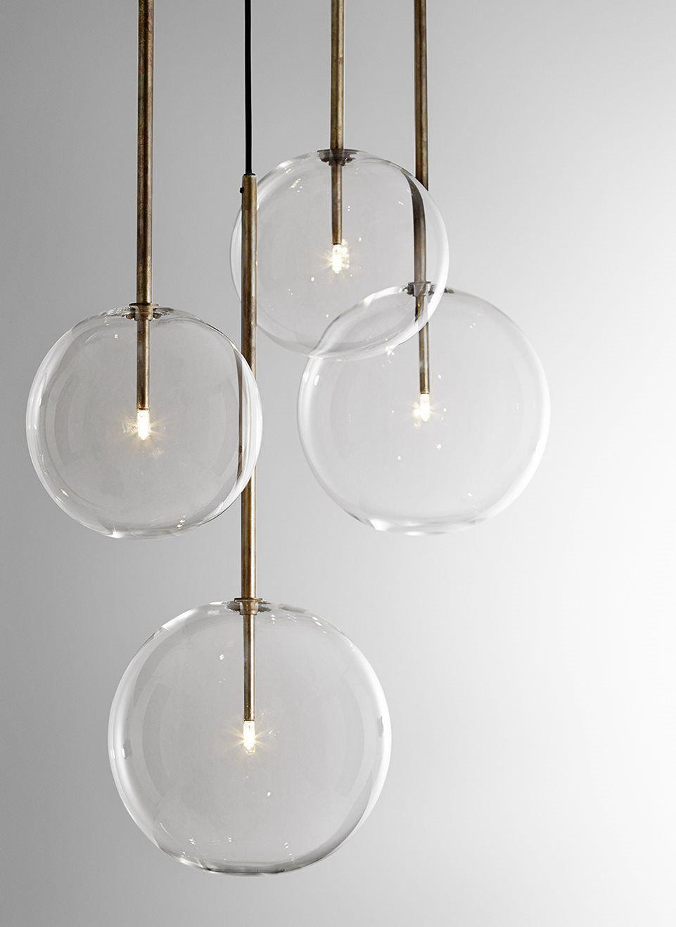 Hallway lighting modern  CTO Lighting Bolle Sola L Pendant Light  Home in   Pinterest