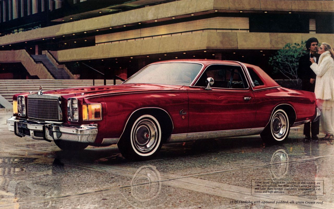 1979 Chrysler Cordoba Crown With Lighted Roof Band Chrysler