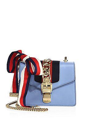 0f01385e47c Gucci Sylvie Leather Mini Chain Bag
