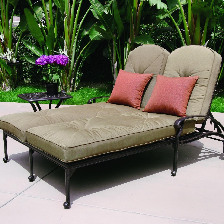 - Double Chaise Lounge Chair Liegestuhl, Lounge Chair, Chaiselongue