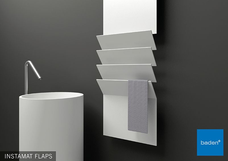 Badkamer radiator in een bijzonder design | toilet | Pinterest