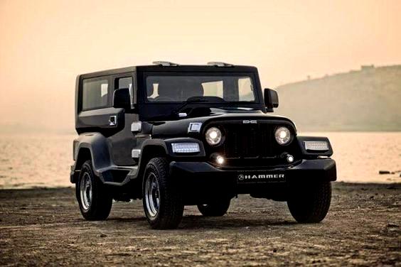 Dc Design Mahindra Thar Hammer Main Image In 2020 Mahindra Thar Mahindra Jeep Car Hd