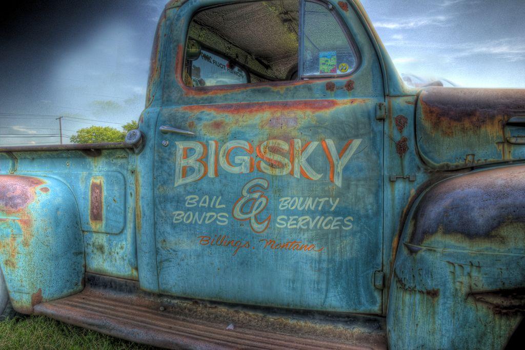 Big Sky S Company Vehicle Vintage Trucks Old Trucks
