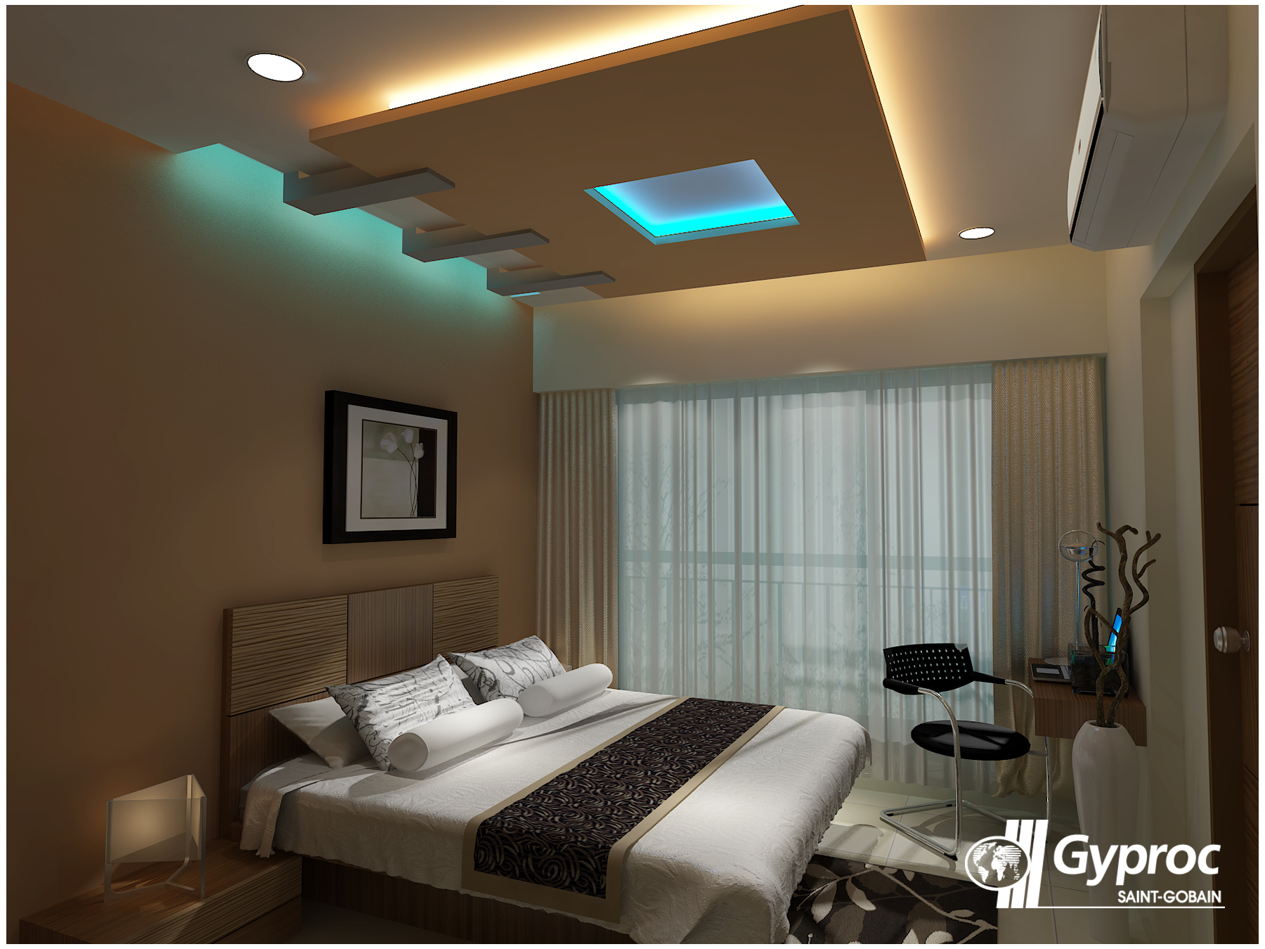 Ceilings that encourage the artist in you! To know more: www.gyproc ...