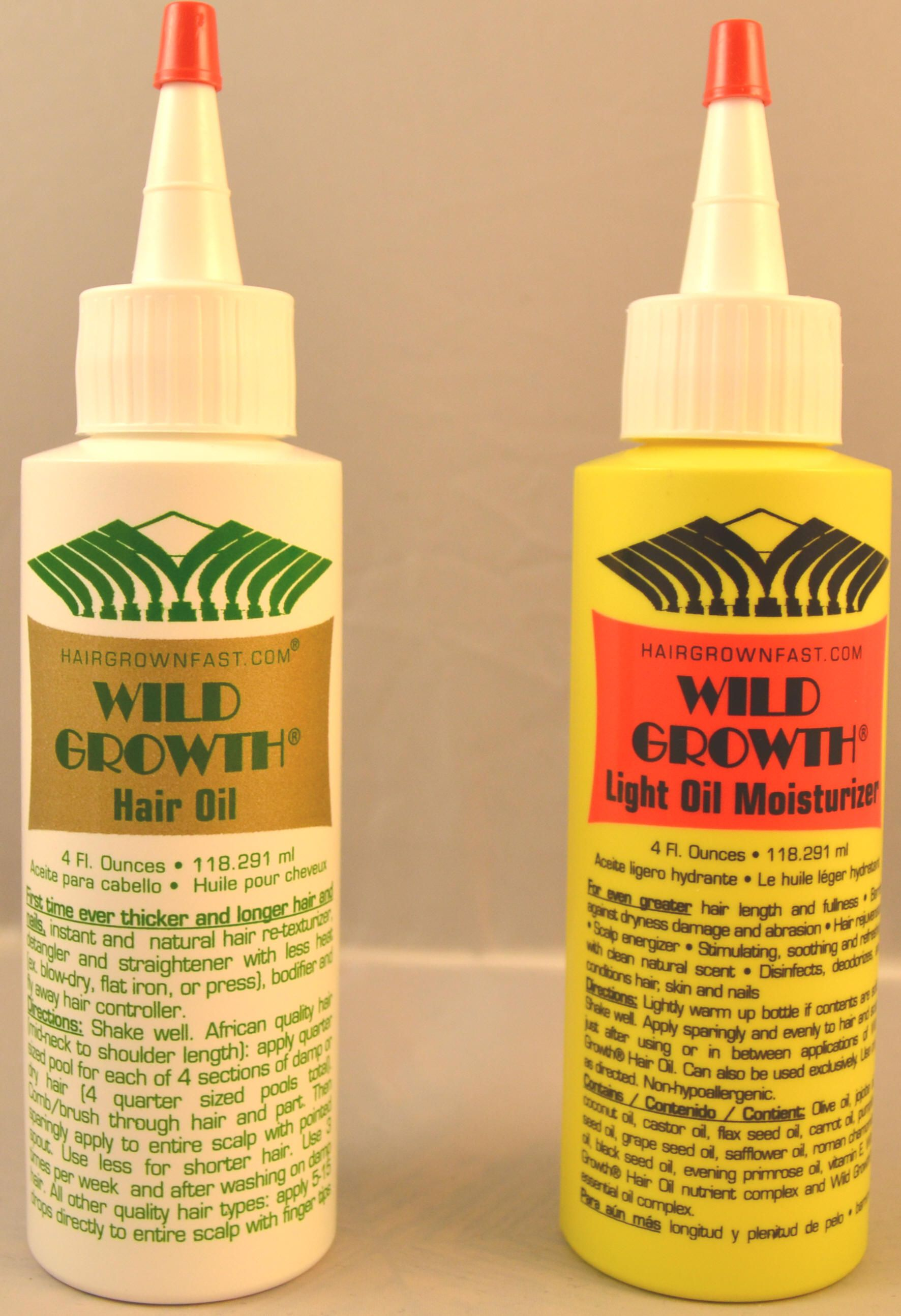how to use wild growth hair oil