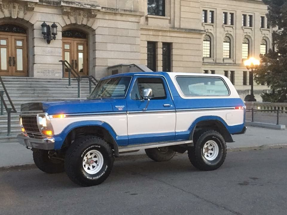 1979 Ford Bronco 79 Ford Truck Ford Bronco Ford Suv