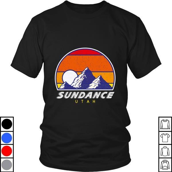 Teeecho Sundance Utah Usa Hiking And Climbing 1980s Retro Design T-Shirt, Sweatshirt, Hoodie for Men & Women #utahusa