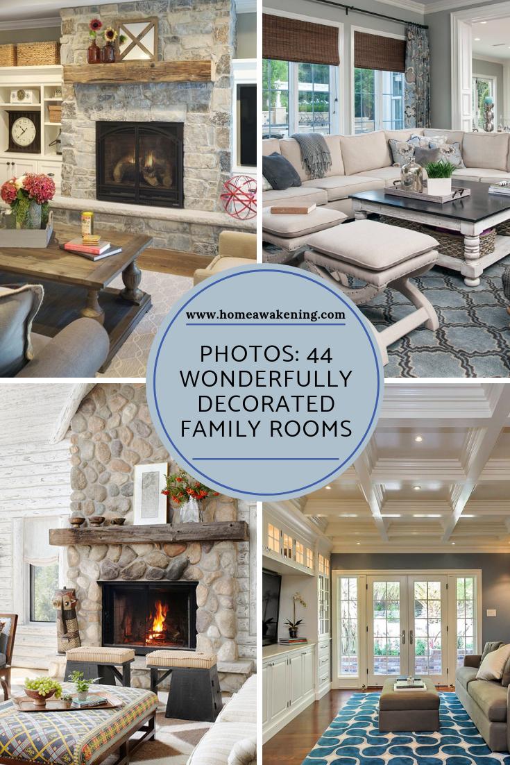 44 Wonderful Family Room Decorations Family Room Family Room