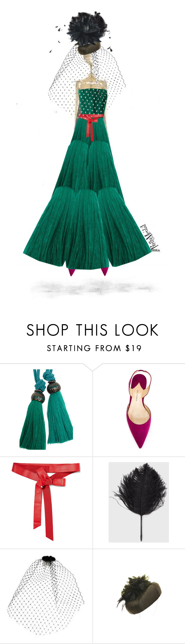 """""""Demure"""" by prettymental ❤ liked on Polyvore featuring Lanvin, Paul Andrew, Donna Karan, Jane Tran, polyvoreeditorial and prettymental"""