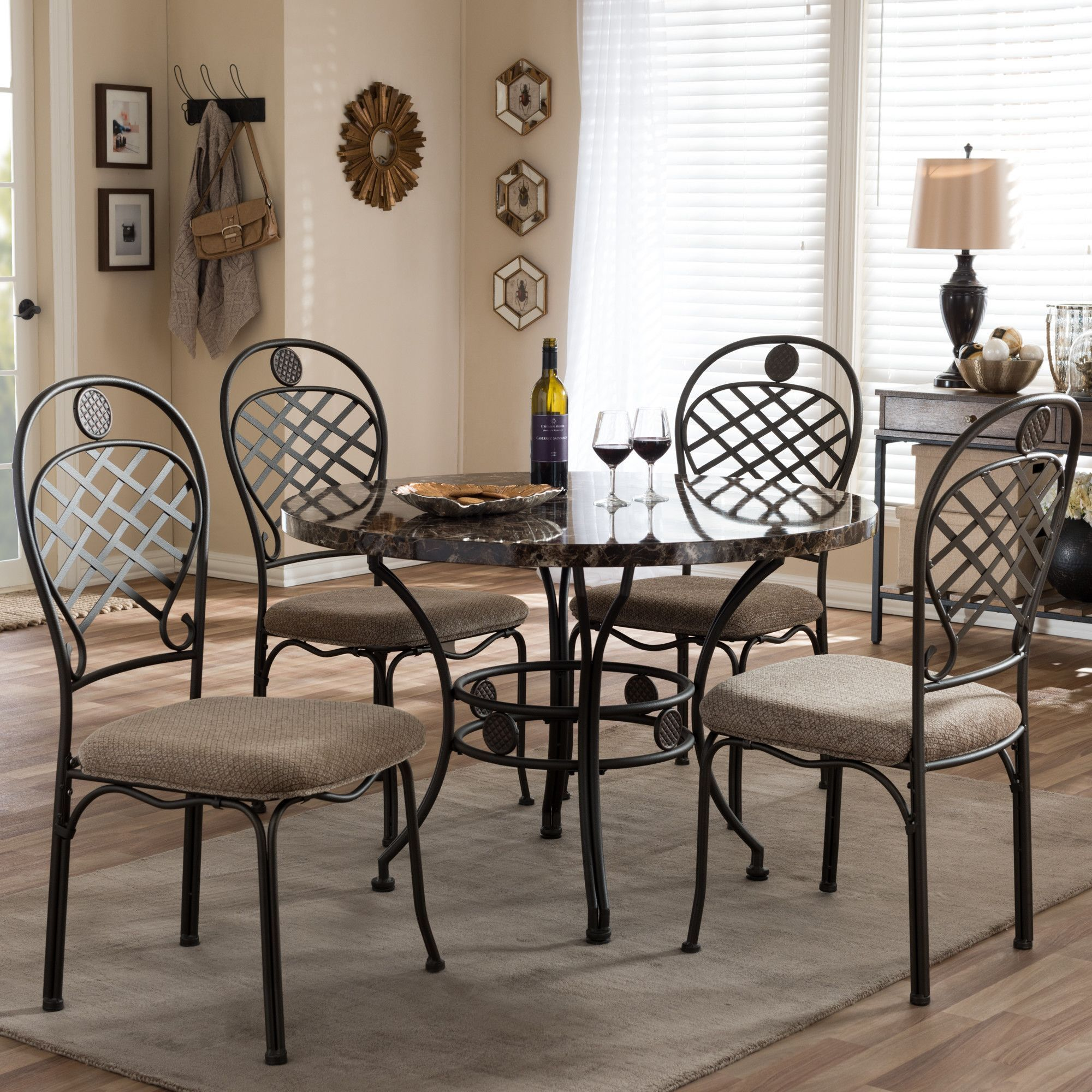 Oak pond piece dining set products pinterest products