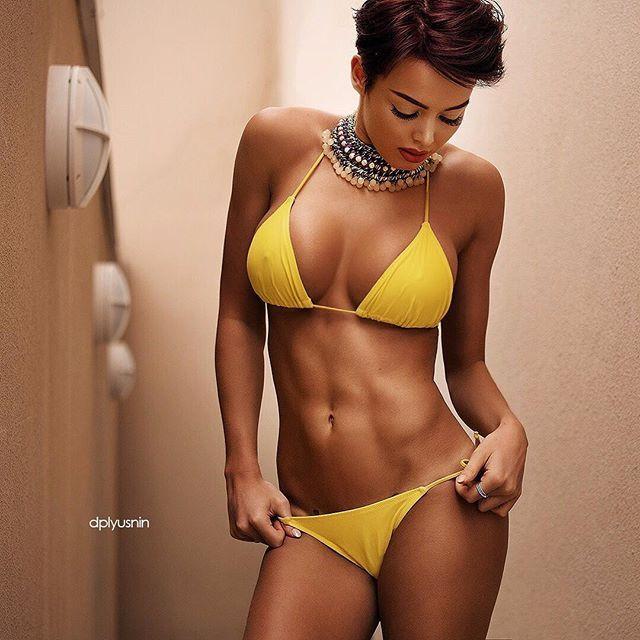 Naked big black brown girls