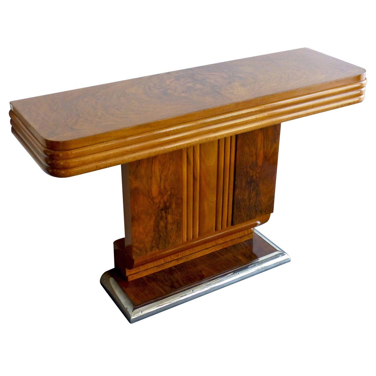 Art Deco console | Art deco, Console tables and Consoles