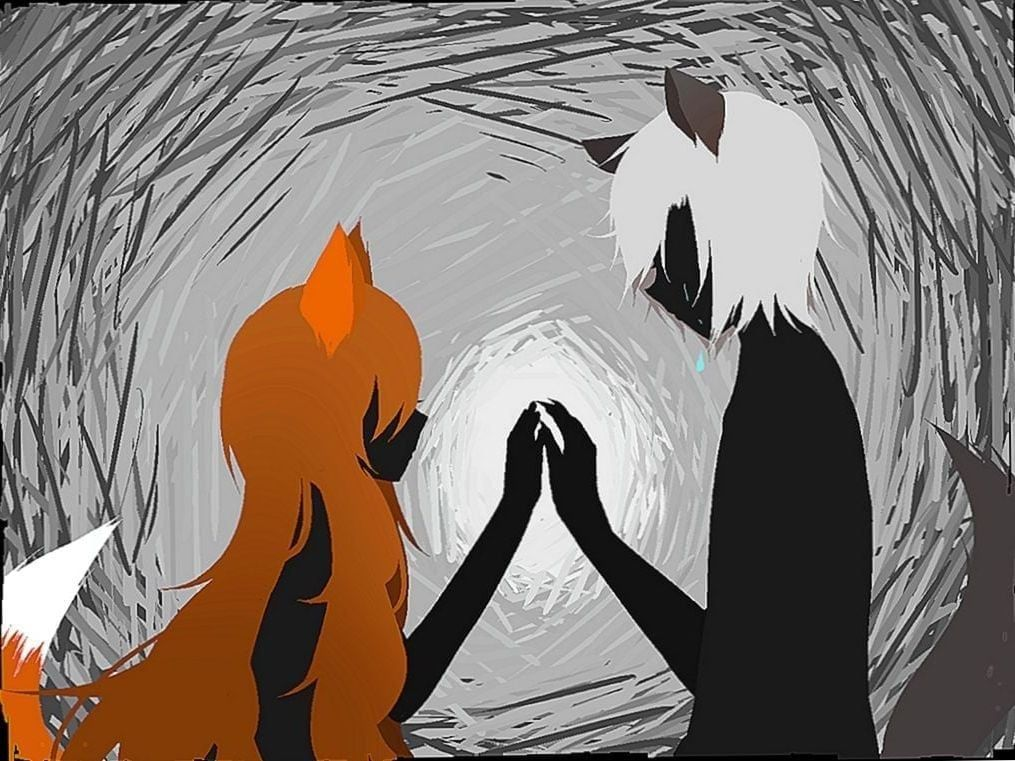 Anime Wolf And Fox Wallpapers Wolf Wallpapers Pro Fox Wallpaper Wolf Boy Anime Anime Fox Boy Anime wolf boy wallpaper
