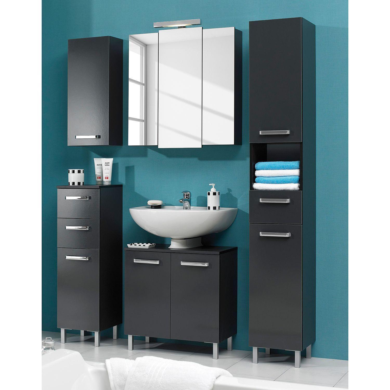 Badezimmer Hochschrank Spiegel Roller In 2020 Spiegelschrank Schrank Und Badezimmer Hochschrank