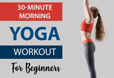 30minute morning yoga workout routine for beginners