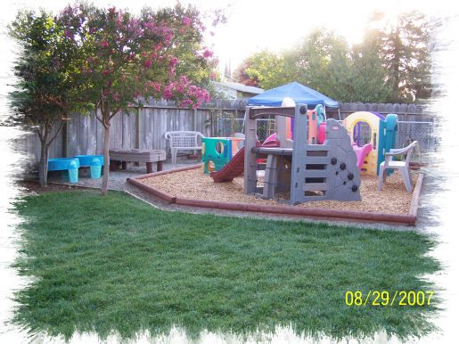 I Like Everything About This Playspace (except The Multiple Plastic Play  Structures... Backyard Play AreasKid ...