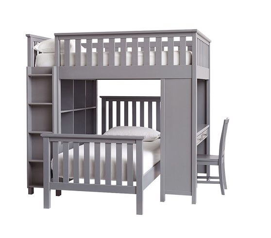 Elliott Loft System & Twin Bed Set | Pinterest