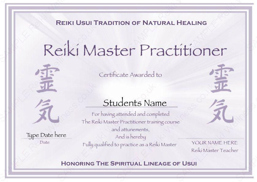Free Reiki Certificate Templates Template Update234 Template With Reiki I Ce Certificate Template Certificate Of Achievement Template Certificates Template