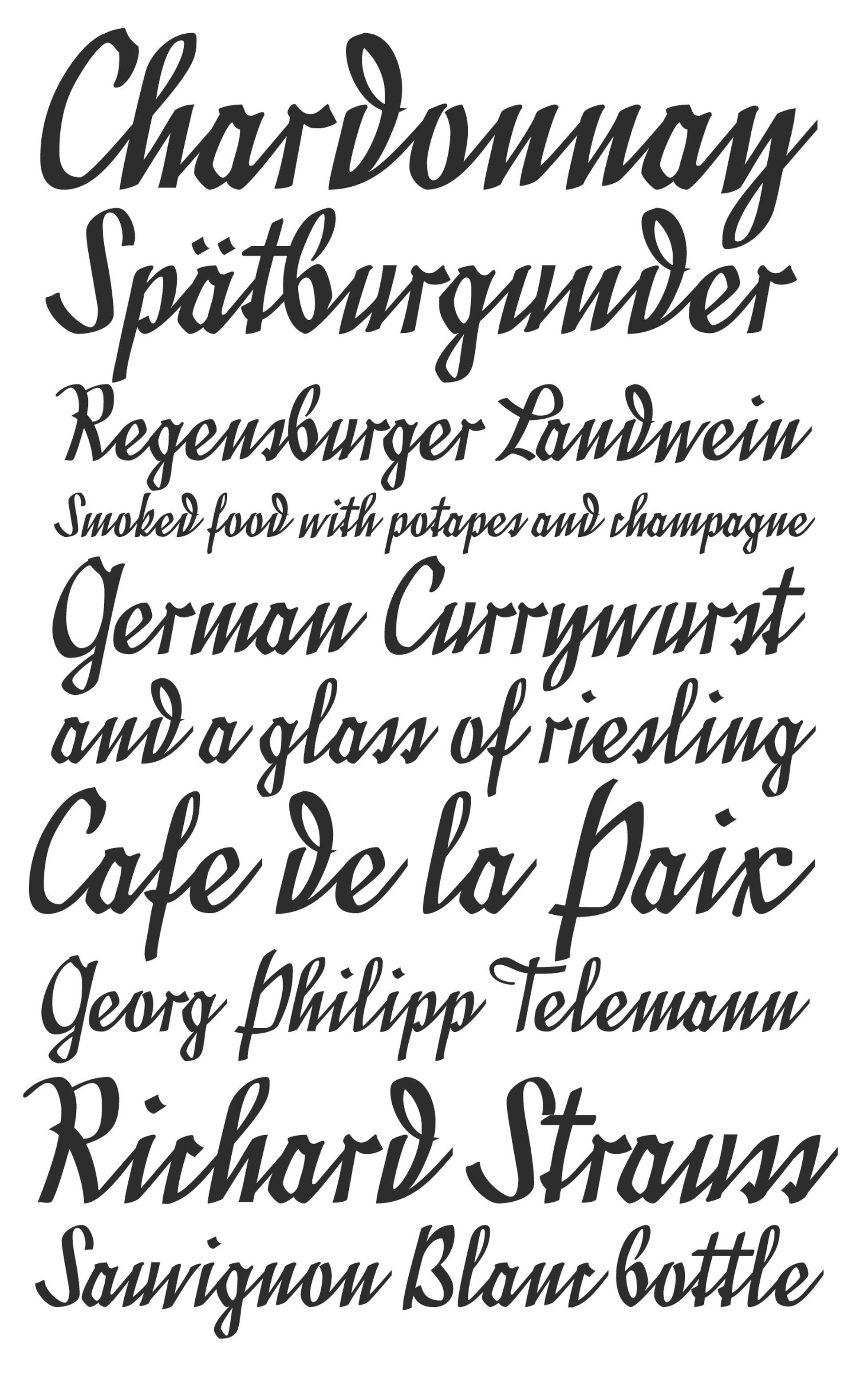 Font Family Cursive : family, cursive, Divina, Fonts,, Family,, Cursive