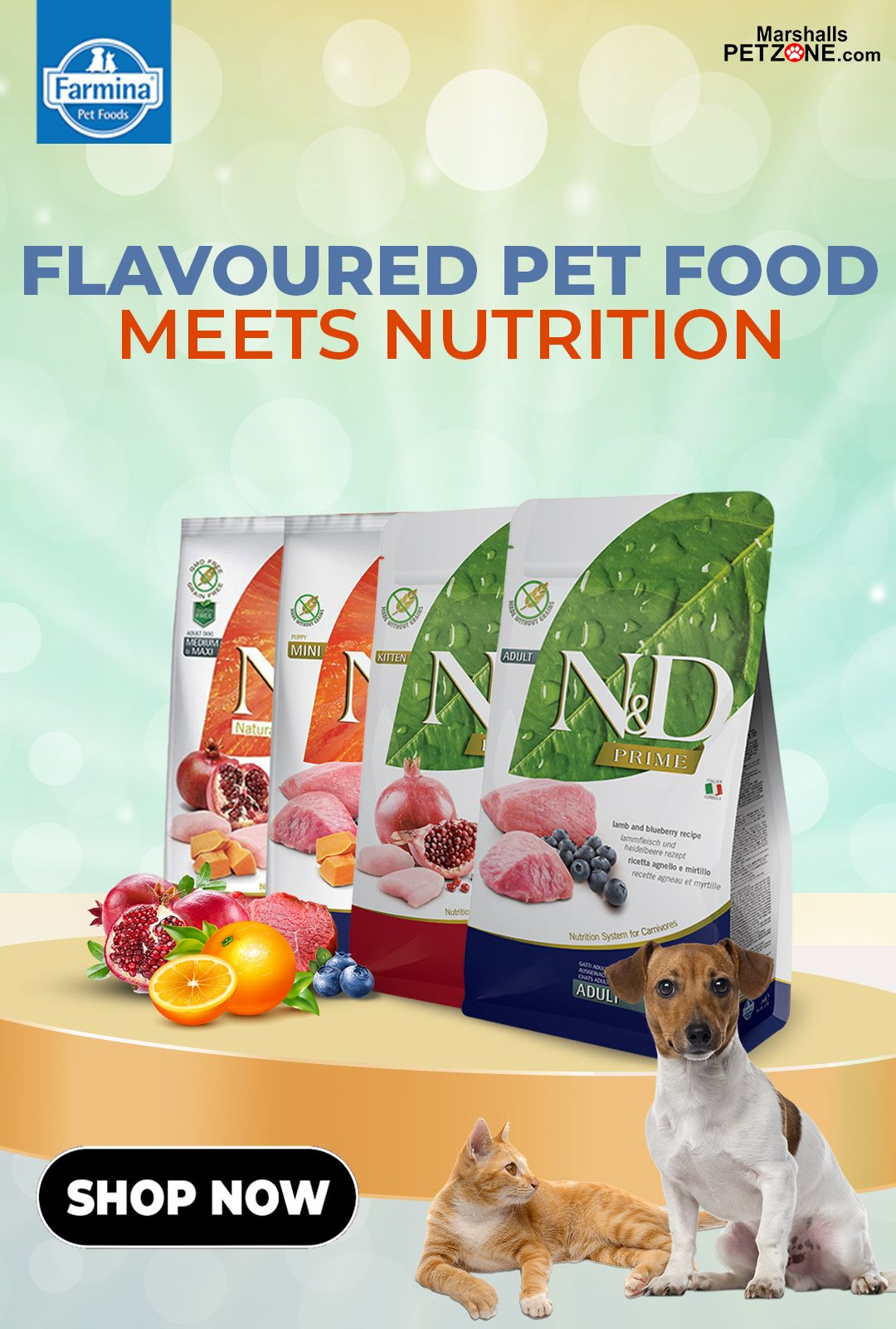Farmina flavoured pet food meets nutrition in 2020 food