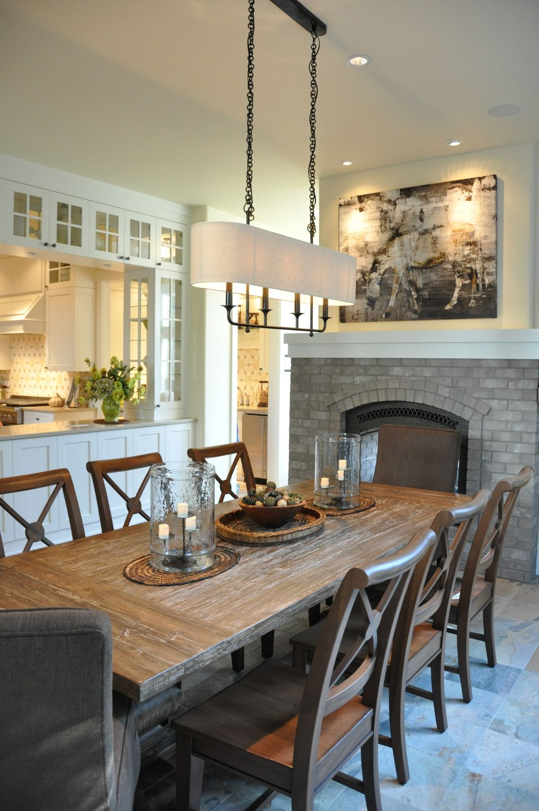 Budget Aside- Kitchen Counter Open To Dining With