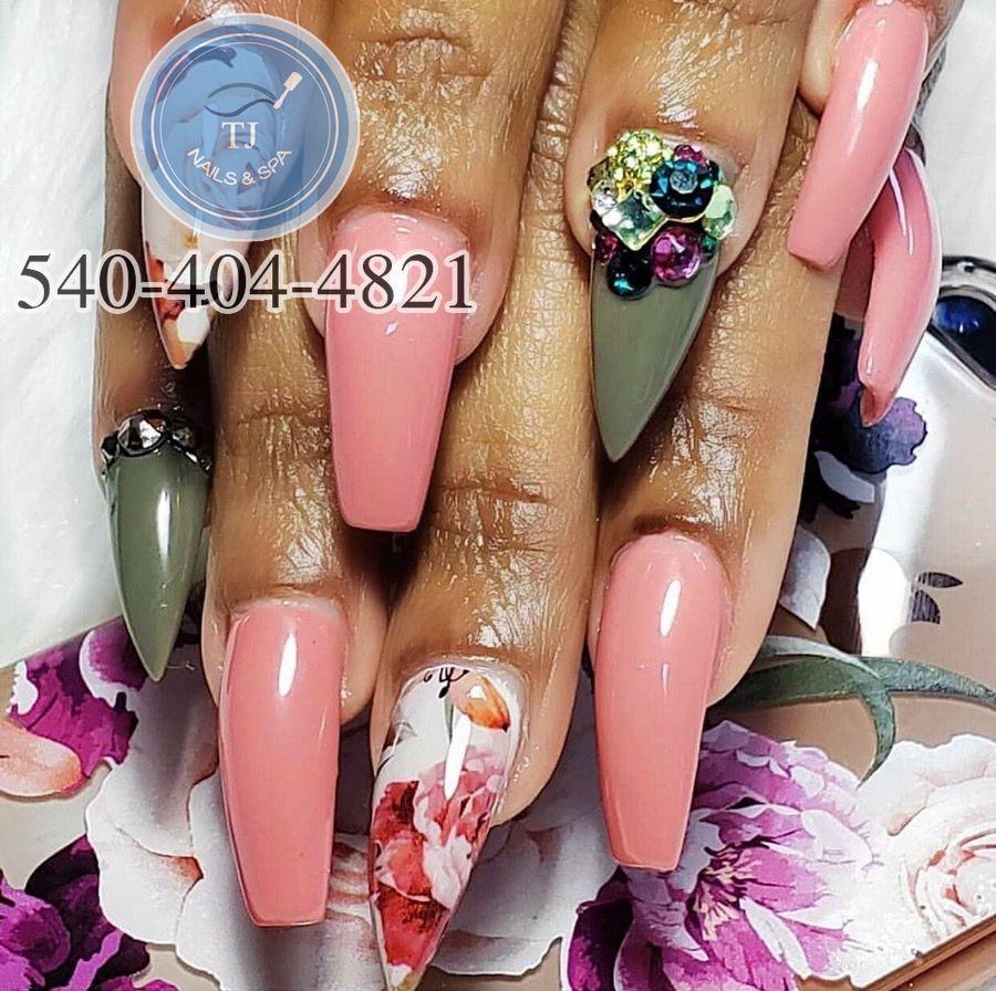T J Nails Spa Nails Salon In Salem Va 24153 Manicure Best Nail Salon Nail Spa
