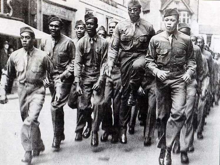 black soldiers in american history essay
